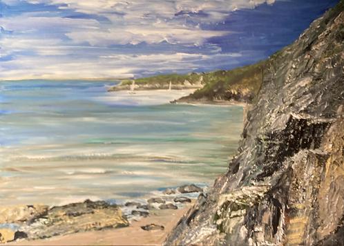 Fishguard Bay - Print on Canvas