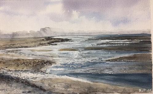 Snettisham Beach, North Norfolk Fine Art Print