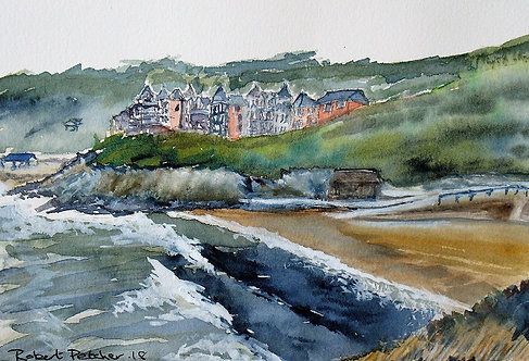 Caswell Bay on The Gower Peninsualr Fine Art Print