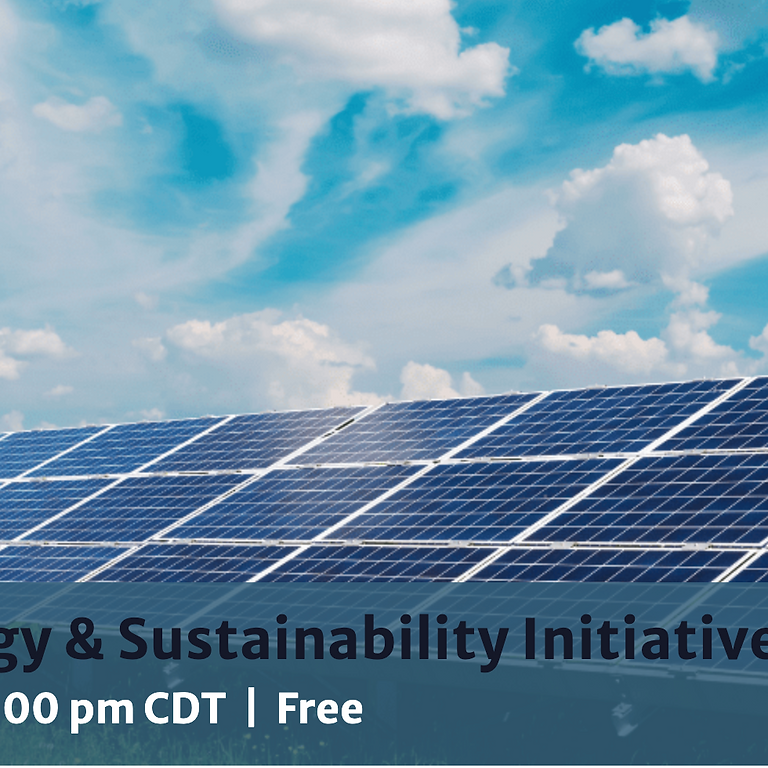 Renewable Energy & Sustainability Initiatives in Cook County