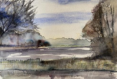 Thornton Reservoir Leicestershire Original