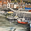 Thumbnail: Whitby Harbour Canvas Print