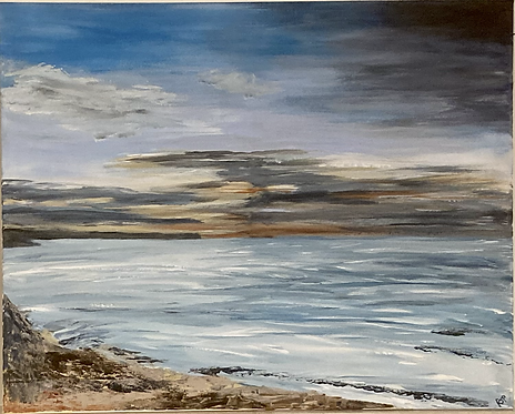 Whitby to Sandsend - Print on Canvas