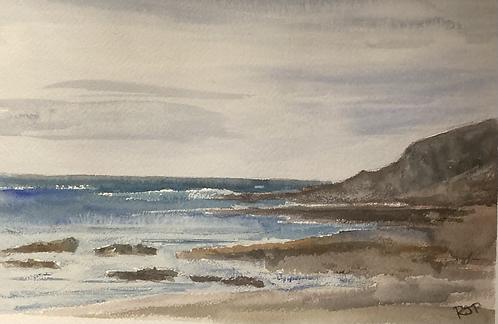 Limeslade Bay Fine Art Print