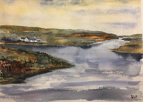 A Scottish Landscape Art Print