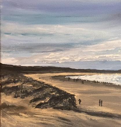 Holkham Beach, North Norfolk Fine Art Print