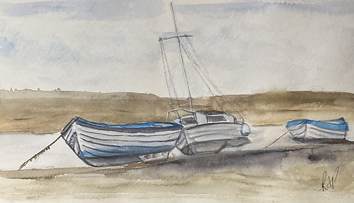 Blakeney, Norfolk Fine Art Print