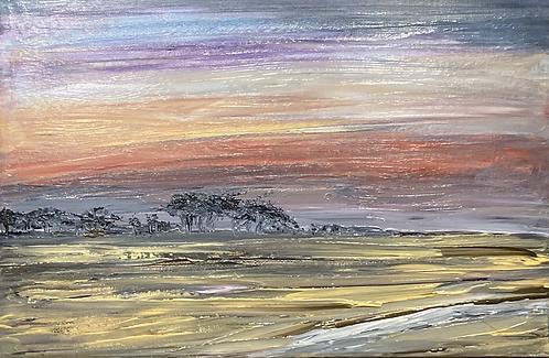 Along Wells Beach Canvas Print