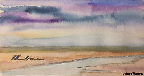 Brancaster Beach, North Norfolk Fine Art Print