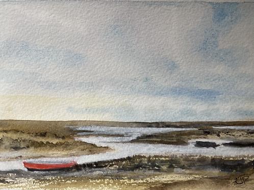 Morston Quay Fine Art Print