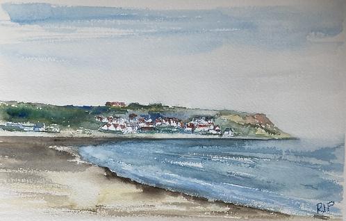 Runswiick Bay Fine Art Print