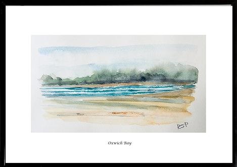 Oxwich Bay Framed Print