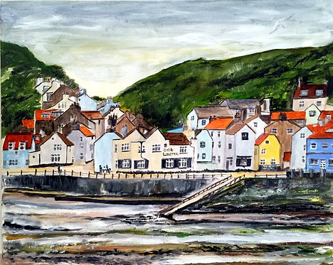 Staithes on the North Yorkshire Coast