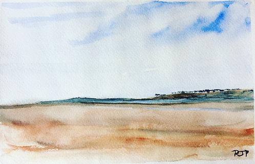 Poppit Sands  to Cardigan Island