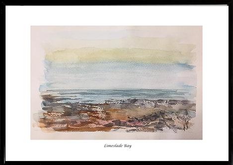 Limeslade Bay Framed Print