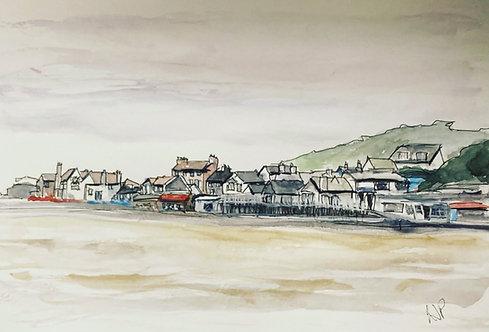 Lyme Regis Seafront Dorset Fine Art Print
