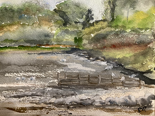 From the banks of Ullswater Original Watercolour