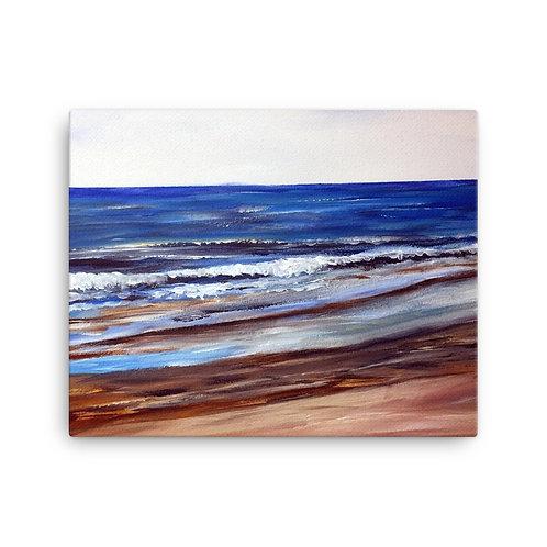 Snettisham Beach Print on Canvas