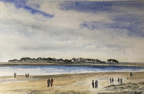 On Holkham Beach Fine Art Print