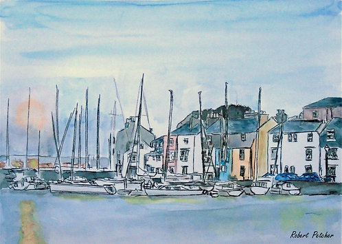 Weymouth Harbour  Dorset Fine Art Print