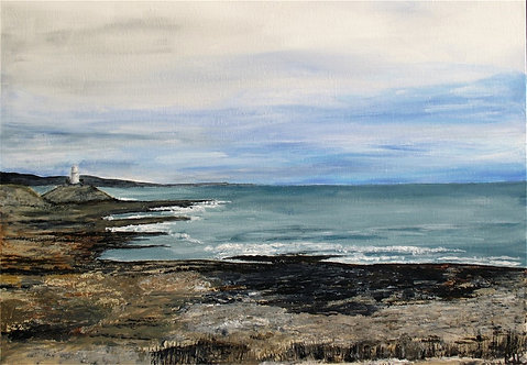Bracelets Bay - Acrylic on Canvas
