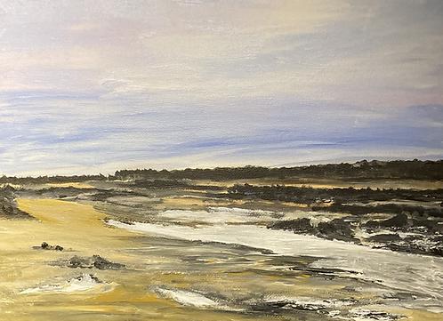 Brancaster Beach Norfolk Print on Csnvas