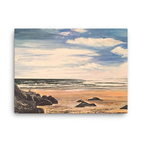 Caswell Beach Print on Canvas