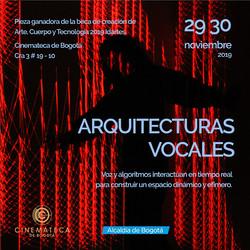 Arquitecturas vocales