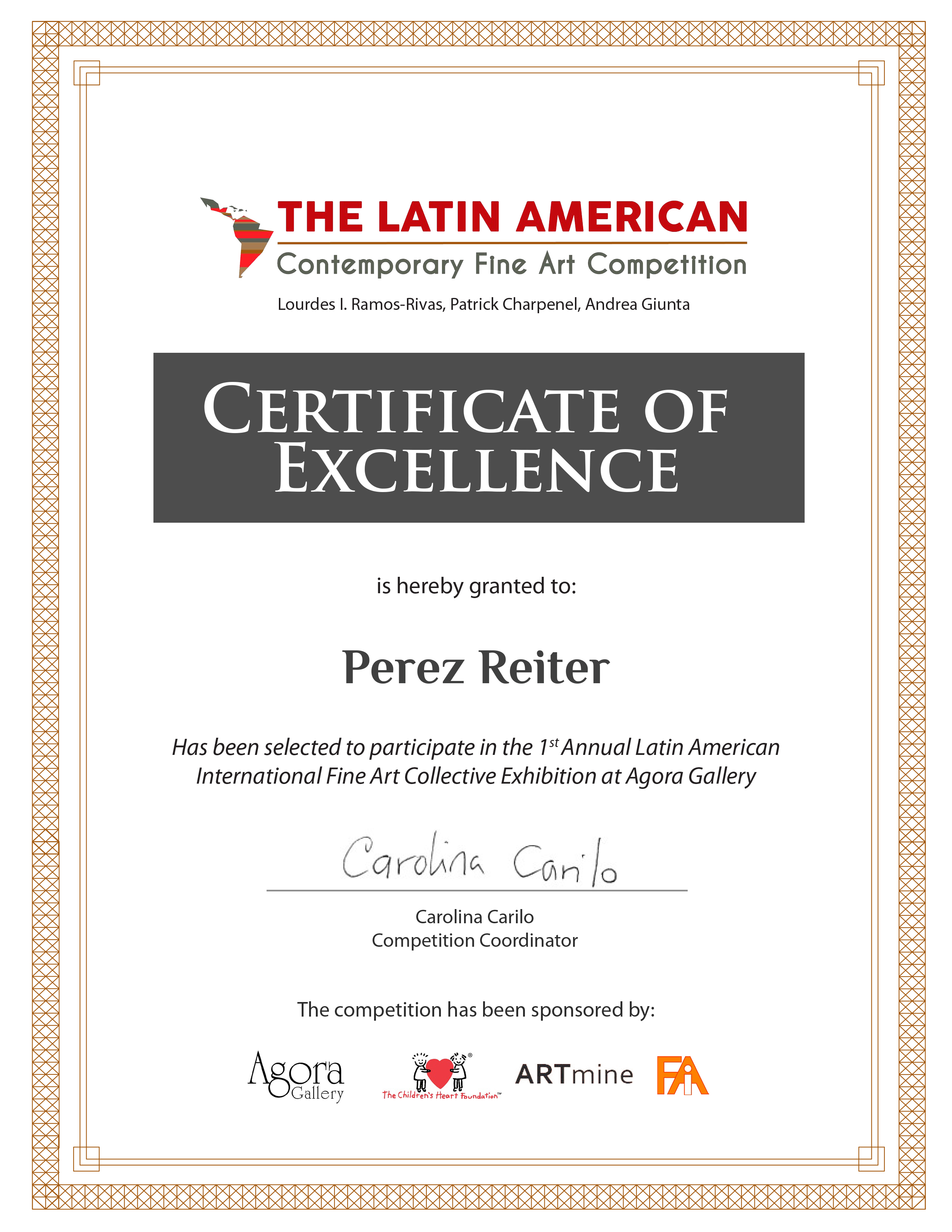 Perez Reiter_AWARDED