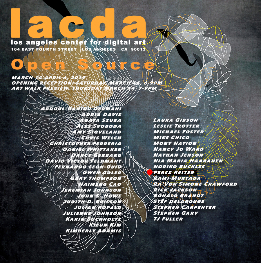 Perez Reiter at LACDA, Los Angeles