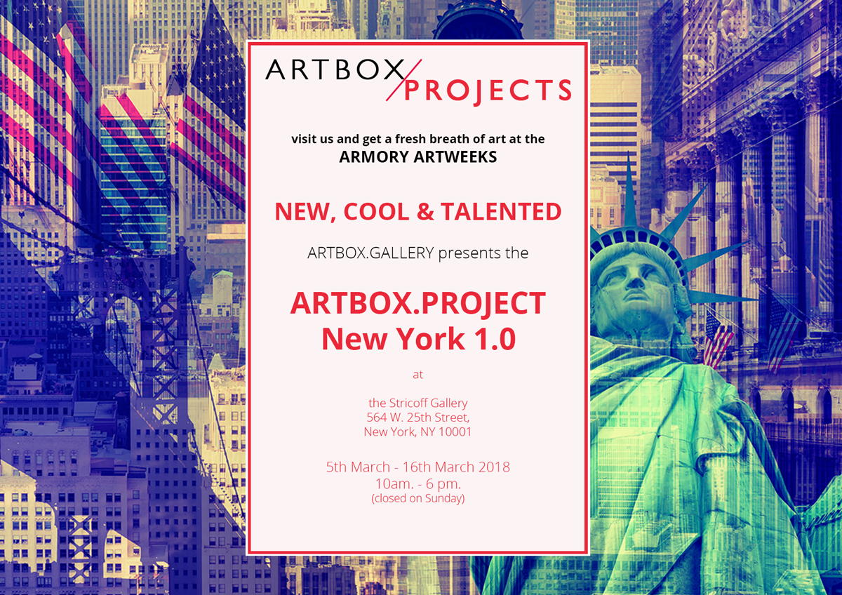 ARTBOX/PROJECT  NYC 1.0_2018