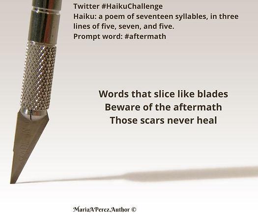 Haiku Challenge - aftermath - Non Montor
