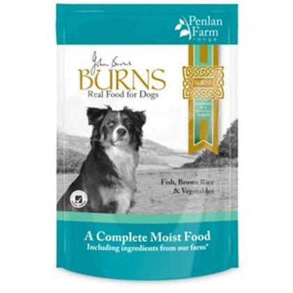 Burns Penlan Farm Fish, Brown Rice & Veg Box of 6
