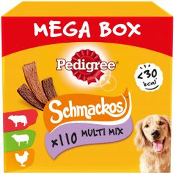 Pedigree Schmackos Mega Box 110