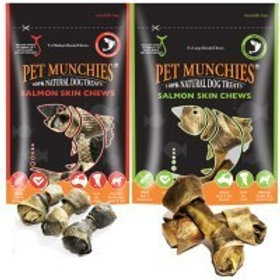 Pet Munchies Salmon Skins