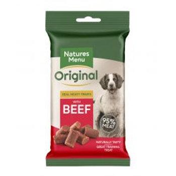 Natures Menu Meaty Treats Beef 60g