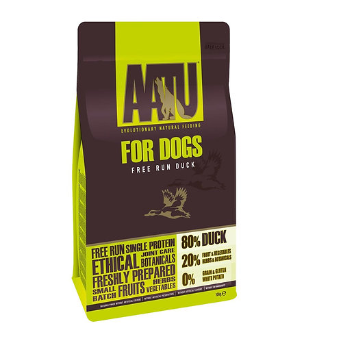 AATU 80/20 Duck Grain Free Complete dry dog food
