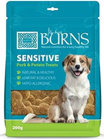 Burns Treats Sensitive Pork & Potato 200g