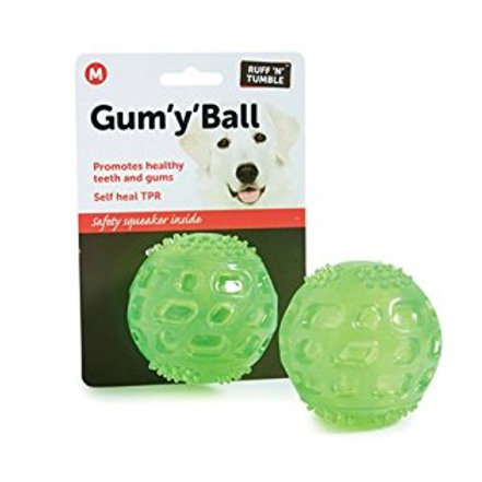 Ruff 'n' Tumble Gum 'y' Ball 2.5""