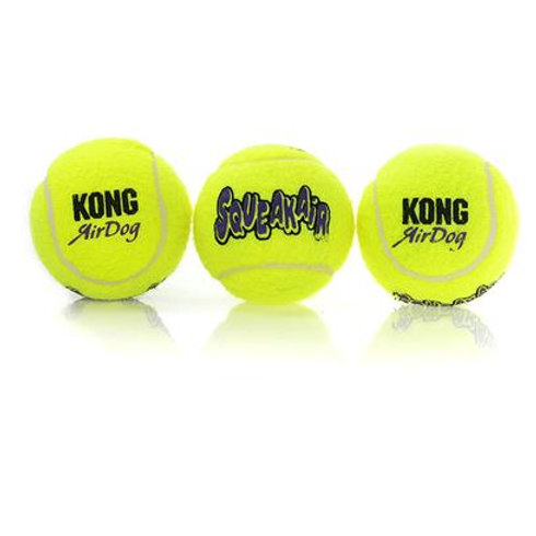 Kong Air Squeaker Tennis Ball (3pk