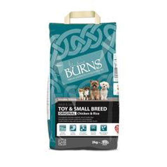 Burns Adult Toy & Small Breed Chicken & Rice