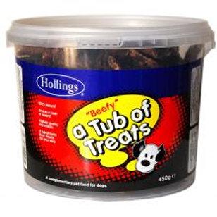 Hollings Tub Of Treats Beef