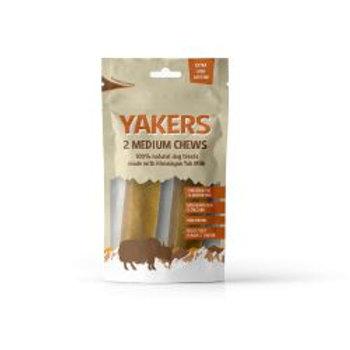 Yakers Medium Dog Chew 2 pack