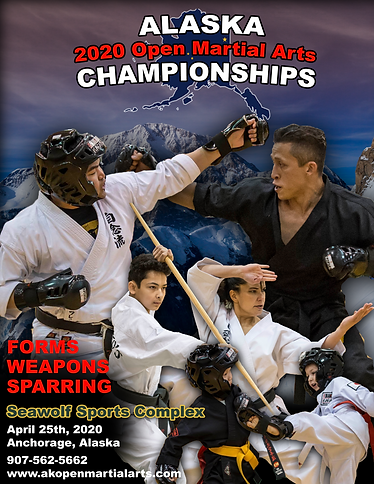 2020 AK Open Martial Arts Tournament Fly