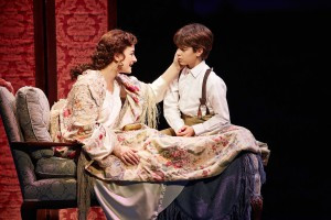 . Laura Michelle Kelly and Aidan Gemme of the Original Broadway Cast. Photo by Carol Rosegg