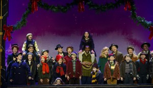 The Cast of A Christmas Story, The Musical. Photo by Gary Emord Netzley.