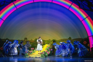 "Sarah Lasko portrays Dorothy, the girl who discovers Munchkin Land in the touring production of ""The Wizard of Oz,"" at Heinz Hall through Monday. Photo: Luk Monsaert"