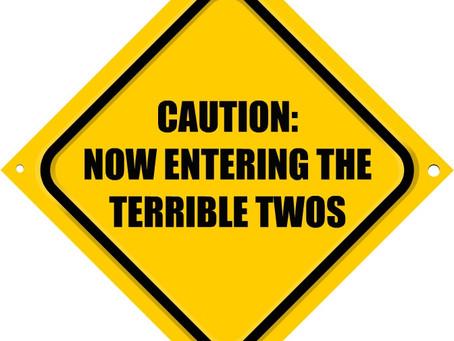 Terrible twos…… God Help Me!