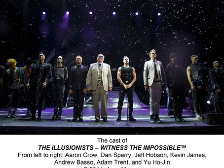 Review: The Illusionists – Live from Broadway