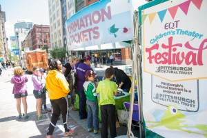 EQT Children's Theater Festival_information booth